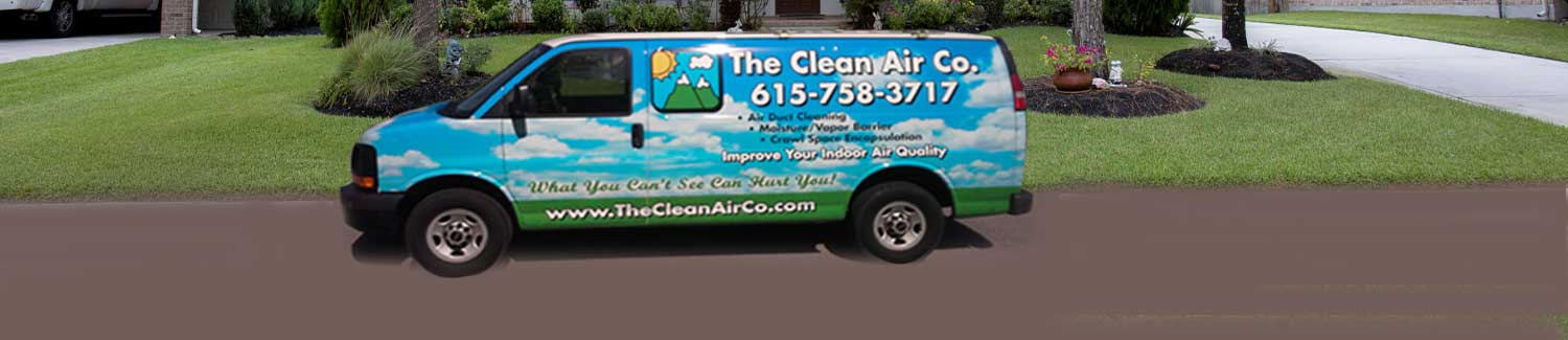 Service Van for The Clean Air Co.